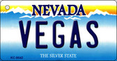 Vegas Nevada Background Novelty Key Chain
