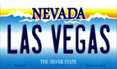 Las Vegas Nevada Background Novelty Metal Magnet