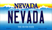 Nevada Nevada Background Novelty Metal Magnet