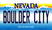 Boulder City Nevada Background Novelty Metal Magnet