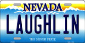 Laughlin Nevada Background Novelty Metal License Plate