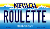 Roulette Nevada Background Novelty Metal Magnet