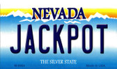 Jack Pot Nevada Background Novelty Metal Magnet