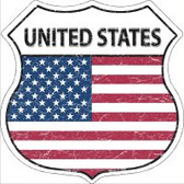 United States Highway Shield Novelty Metal Magnet
