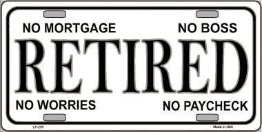 Retired Metal Novelty License Plate LP-276