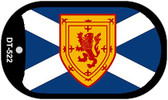 "Scotland St Andrews Country Flag Dog Tag Kit 2"" Metal Novelty"