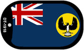 "South Australia Country Flag Dog Tag Kit 2"" Metal Novelty"