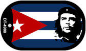 "Che Guevara Country Flag Dog Tag Kit 2"" Metal Novelty"