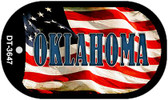 "Oklahoma Dog Tag Kit 2"" Metal Novelty"
