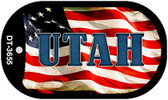 "Utah Dog Tag Kit 2"" Metal Novelty"