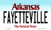Fayetteville Arkansas State Background Magnet Novelty