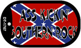 Ass Kickin' Southern Rock Dog Tag Kit Novelty Necklace