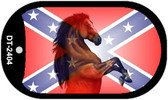 Confederate Stallion Dog Tag Kit Novelty Necklace