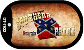 Southern Pride Georgia Dog Tag Kit Novelty Necklace