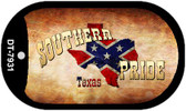Southern Pride Texas Dog Tag Kit Novelty Necklace