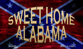 Sweet Home Alabama Novelty Magnet