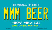 MMM Beer New Mexico Novelty Magnet