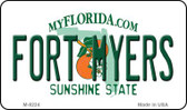 Fort Myers Florida State License Plate Magnet M-8224