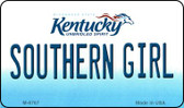 Southern Girl Kentucky State License Plate Novelty Magnet M-6767