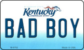 Bad Boy Kentucky State License Plate Novelty Magnet M-6782
