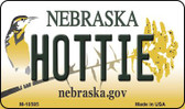 Hottie Nebraska State License Plate Magnet M-10585