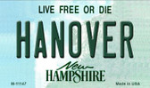 Hanover New Hampshire State License Plate Magnet M-11147