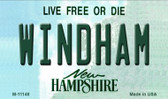Windham New Hampshire State License Plate Magnet M-11148