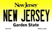 New Jersey State License Plate Magnet M-10145