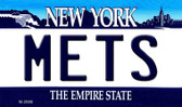Mets New York State License Plate Magnet M-2088