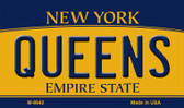 Queens New York State License Plate Magnet M-8942