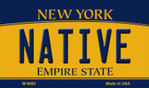 Native New York State License Plate Magnet M-8993