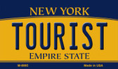 Tourist New York State License Plate Magnet M-8995