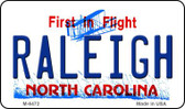 Raleigh North Carolina State License Plate Magnet M-6472