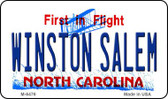 Winston Salem North Carolina State License Plate Magnet M-6476