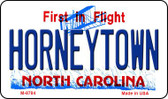 Horneytown North Carolina State License Plate Magnet M-8784