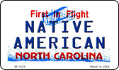 Native American North Carolina State License Plate Magnet M-1430
