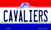 Cavaliers Ohio State License Plate Magnet M-2567