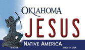 Jesus Oklahoma State License Plate Novelty Magnet M-6239