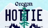 Hottie Oregon State License Plate Magnet M-10359