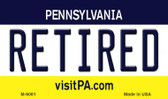 Retired Pennsylvania State License Plate Magnet M-6061