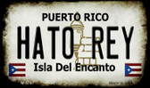 Hato Rey Puerto Rico State License Plate Magnet M-4767