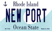 New Port Rhode Island State License Plate Novelty Magnet M-11183