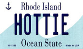 Hottie Rhode Island State License Plate Novelty Magnet M-11198