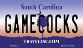 Gamecocks South Carolina State License Plate Magnet M-6303