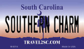 Southern Charm South Carolina State License Plate Magnet M-6314