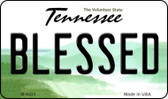Blessed Tennessee State License Plate Magnet M-6431