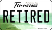Retired Tennessee State License Plate Magnet M-6432