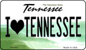 I Love Tennessee State License Plate Magnet M-6441
