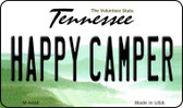 Happy Camper Tennessee State License Plate Magnet M-6446