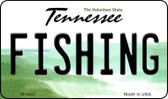 Fishing Tennessee State License Plate Magnet M-6447